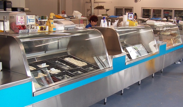 Seafood Display Units