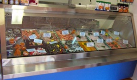 Seafood Display Single Unit