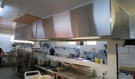 Exhaust Hood & Recessed Lighting