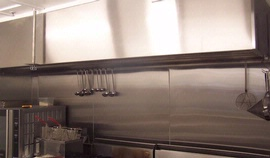 Exhaust Hood & Wall Sheeting